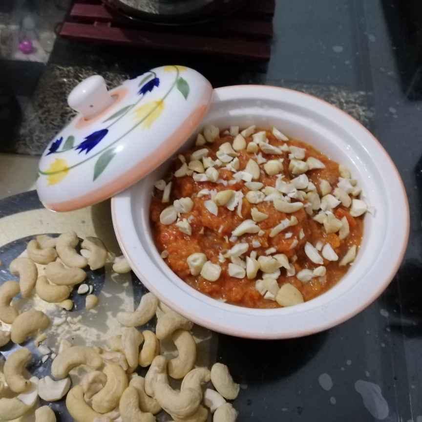 Photo of Pressure Cooked Gaajar Ka Halwa.... by Zeenath Muhammad Amaanullah at BetterButter