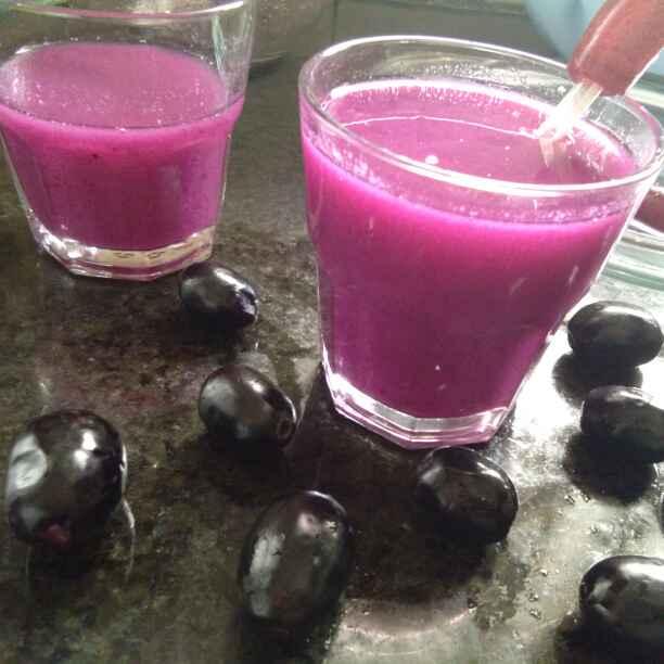 Photo of Indian Blackberry Juice /Jamun Jaaneman Juice by Zulekha Bose at BetterButter