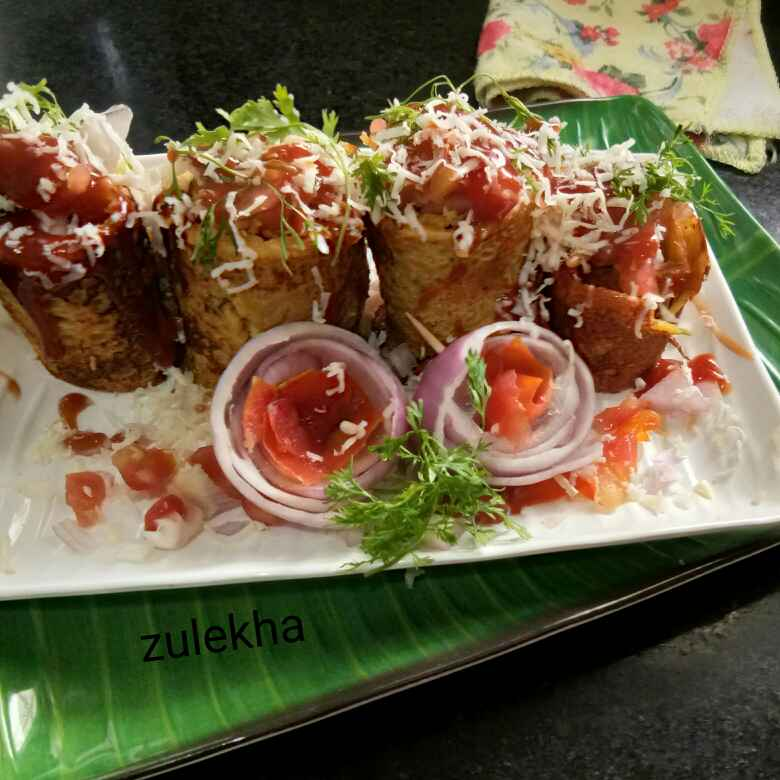 Photo of Romancing cheesy cheela rolls by Zulekha Bose at BetterButter