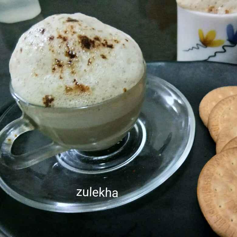 Photo of Milkmaid cappuccino coffee by Zulekha Bose at BetterButter