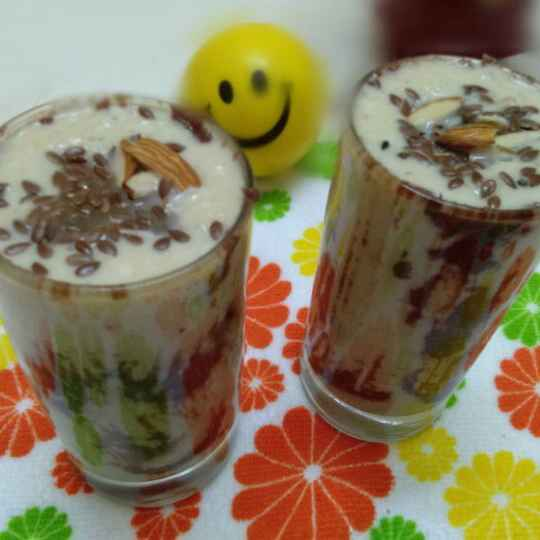 Photo of Nutty chocolaty chikoo milkshake by Zulekha Bose at BetterButter