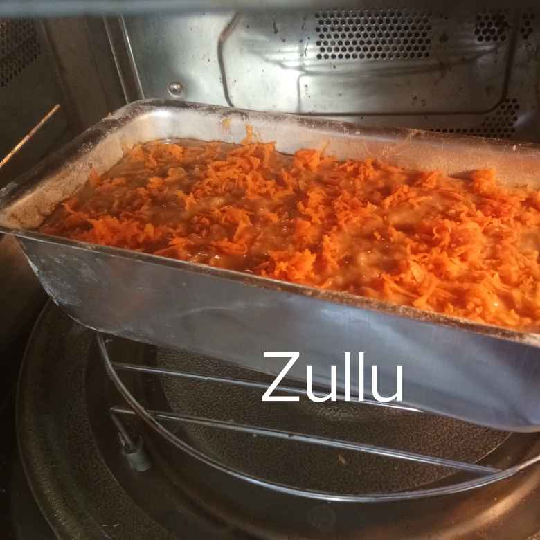 How to make सेब और गाजर लोफ केक