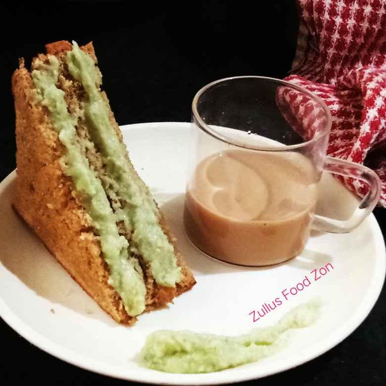 Photo of Cheesy amrud chutney sandwich  by Zulekha Bose at BetterButter
