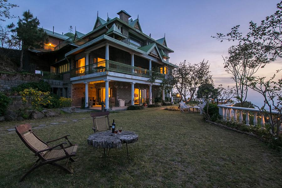 Two storey villa in Kasauli is unique
