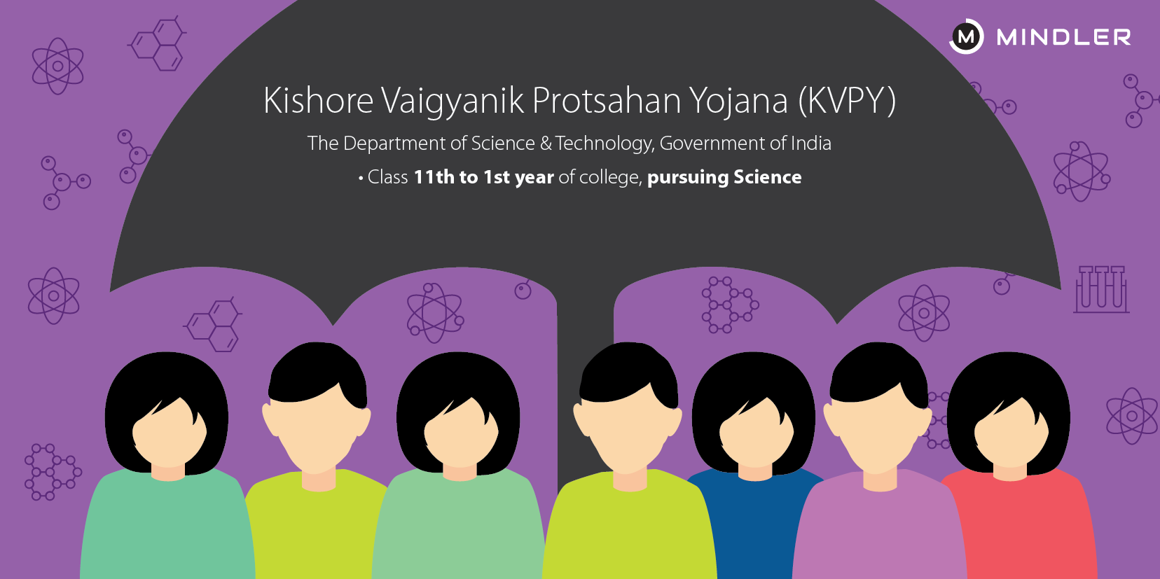 Top 7 popular scholarships for indian students mindler kvpy scholarship thecheapjerseys Choice Image