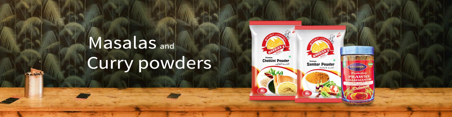 Masalas & Curry powders