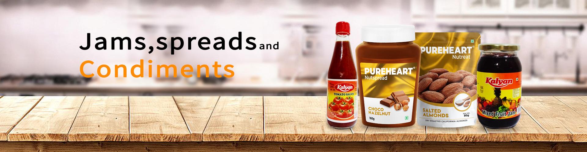 Jams, Spreads & Condiments