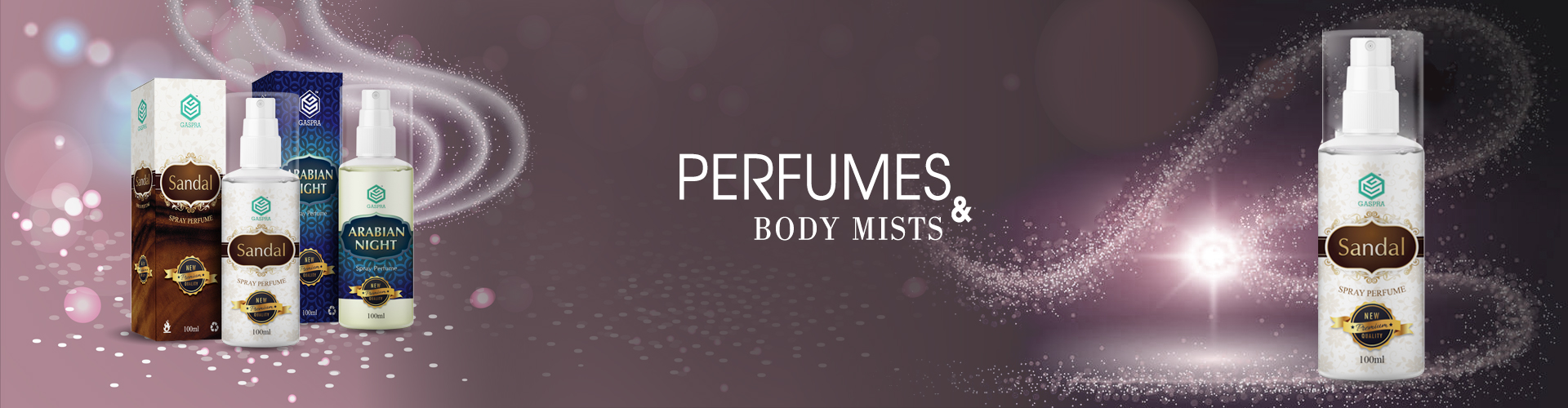 Perfumes & Body mists