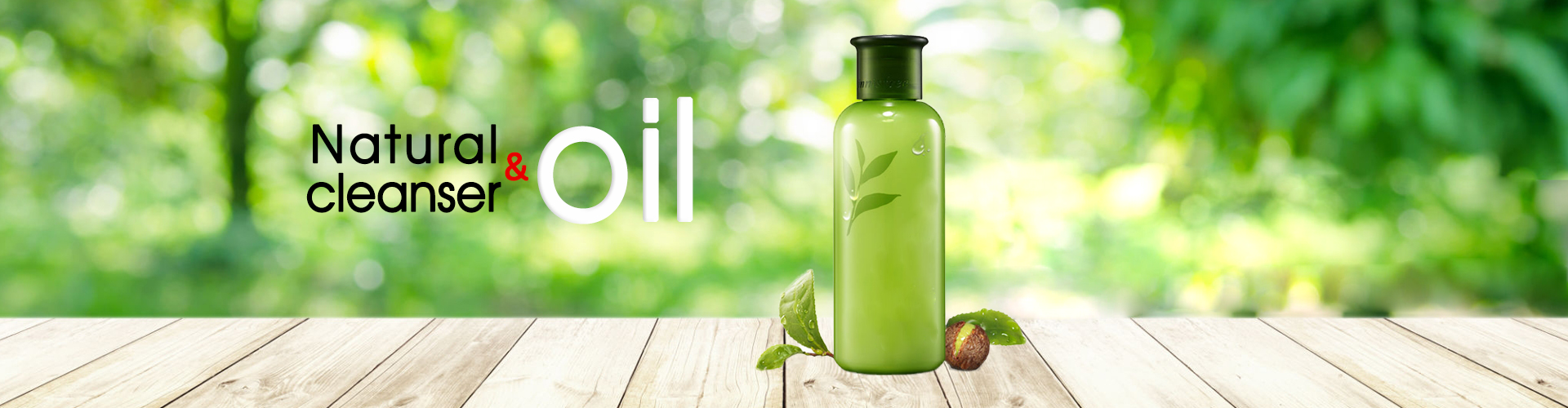 Natural cleanser & Oil