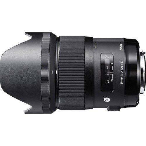 sigma 35mm rental Bangalore f/1.4 dg hsm art lens canon