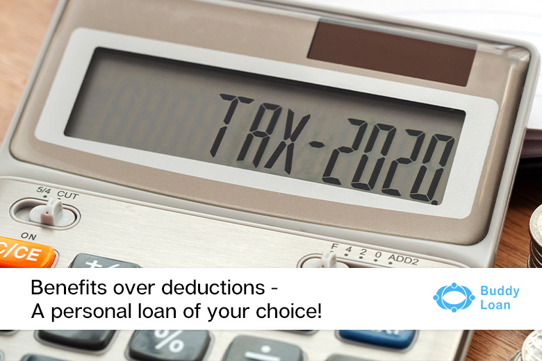 Benefits over deductions with personal loan