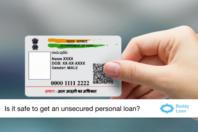 Loan disbursal without paperwork – Aadhaar card!