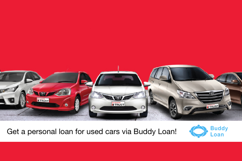 personal loan for used cars via Buddy Loan