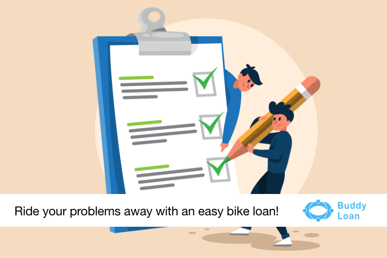 Buddy Loan is now available in just 3 steps