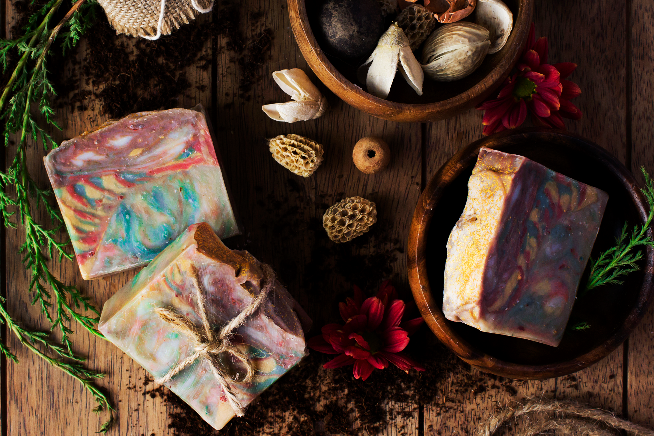 Panee french green rhassoul and rose clay soap 16