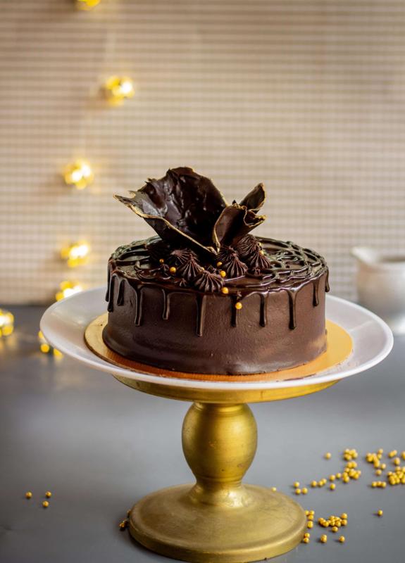 Choc gold cake11