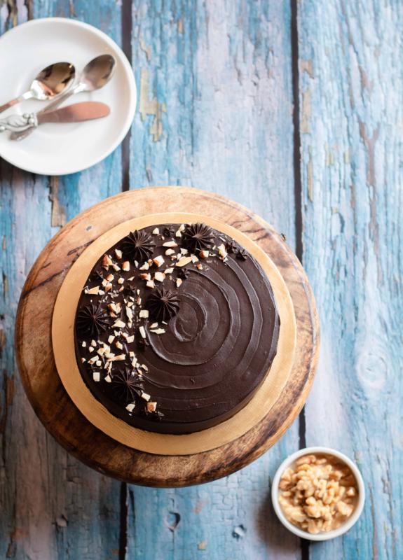 Almond choc cake 2
