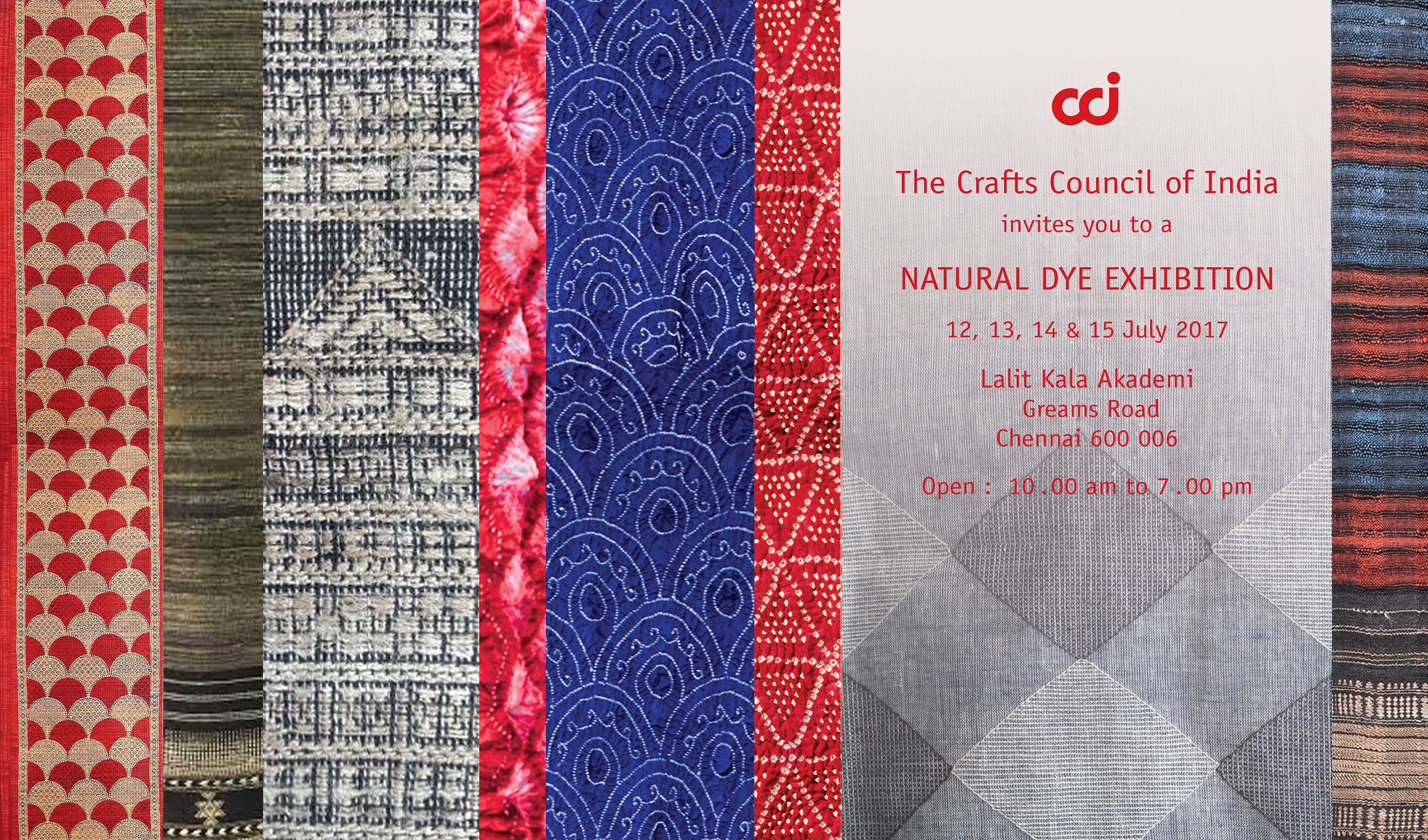 Crafts Council Of India Natural Dyes Exhibition