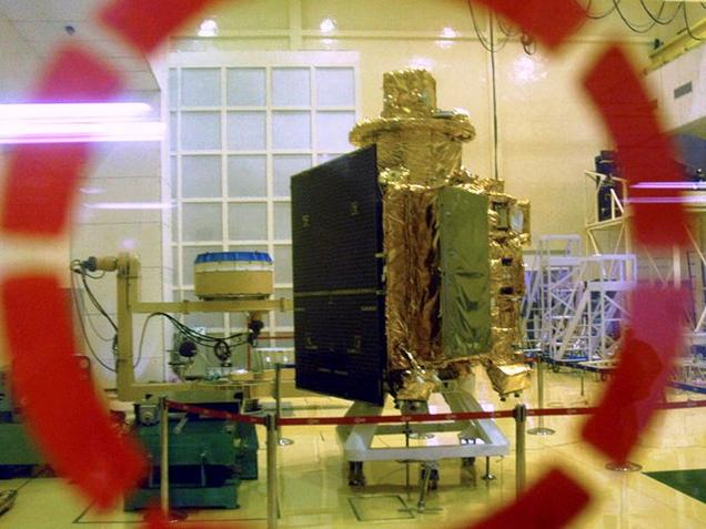 File photo of Chandrayaan-I. India's second lunar probe Chandrayaan-II will be launched in 2017.