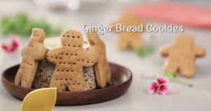 The Great Indian Global Kitchen : GINGER BREAD