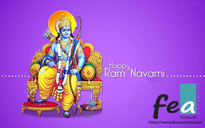 Happy Ram Navami 2018 Fea Ceramic Tiles Manufacturer in india