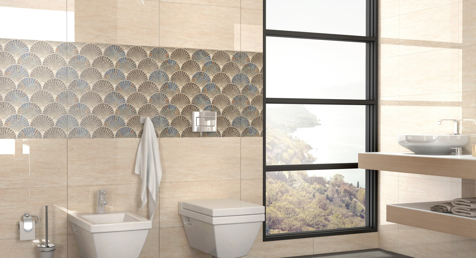 bigger format fea ceramic tiles