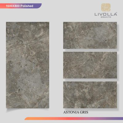 800x1600 Glossy ASTONIA GRIS