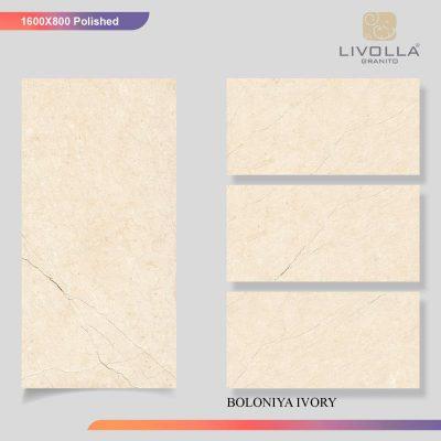 800x1600 Glossy BOLONIYA IVORY