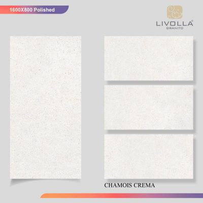 800x1600 Glossy CHAMOIS CREMA