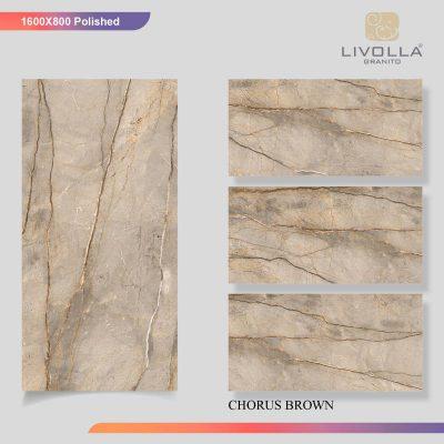 800x1600 Glossy CHORUS BROWN