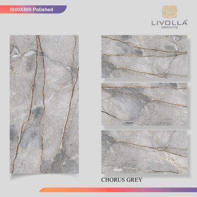 800x1600 Glossy CHORUS GREY