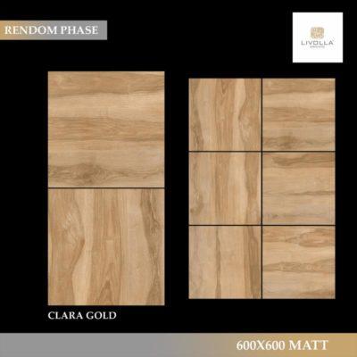 600x600 Wood CLARA GOLD