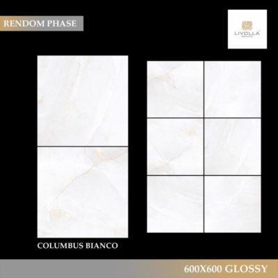 600x600 Glossy COLUMBUS BIANCO