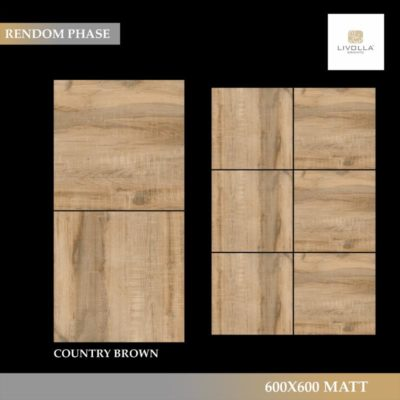 600x600 Wood COUNTRY BROWN