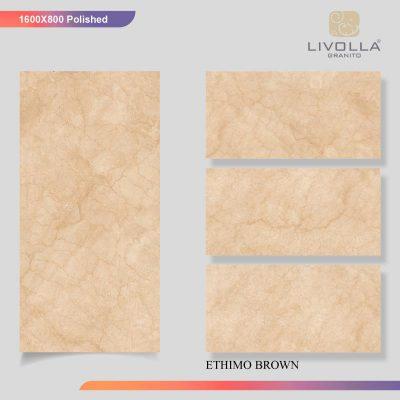 800x1600 Glossy ETHIMO BROWN