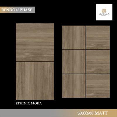 600x600 Wood ETHINIC MOKA