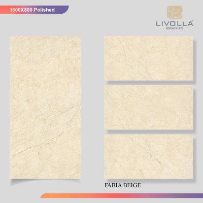 800x1600 Glossy FABIA BEIGE