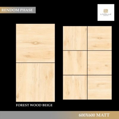 600x600 Wood FOREST WOOD BEIGE