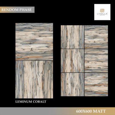 600x600 Wood LEMINUM COBALT