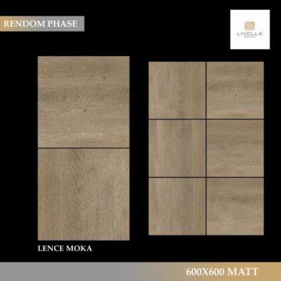 600x600 Wood LENCE MOKA