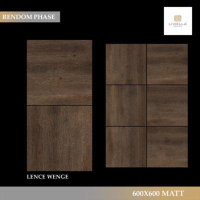 600x600 Wood LENCE WENGE