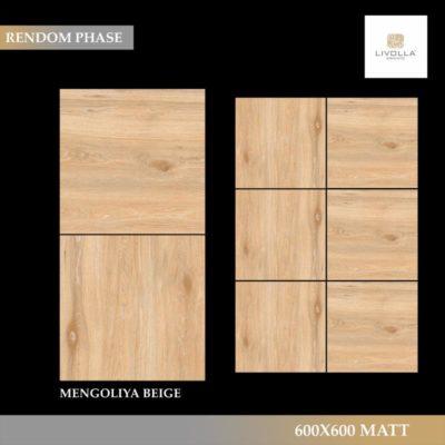 600x600 Wood MENGOLIYA BEIGE