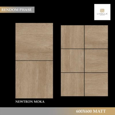 600x600 Wood NEWTRON MOKA