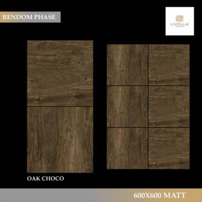 600x600 Wood OAK CHOCO