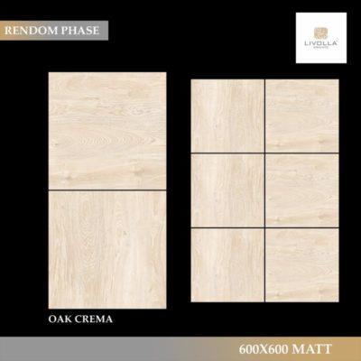 600x600 Wood OAK CREMA