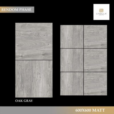600x600 Wood OAK GRAY
