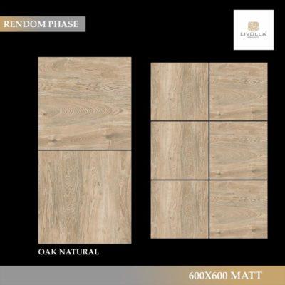 600x600 Wood OAK NATURAL