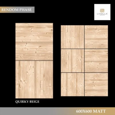 600x600 Wood QUIRKY BEIGE