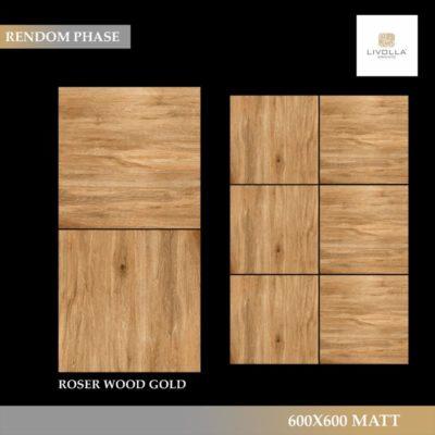 600x600 Wood ROSER WOOD GOLD
