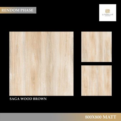 800x800 Matt SAGA WOOD BROWN